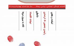 نشریه ریحانة - 4 جامعه اسلامی دانشگاه صنعتی اصفهان